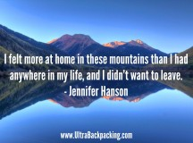 Hiking the Continental Divide Trail by Jennifer Hanson